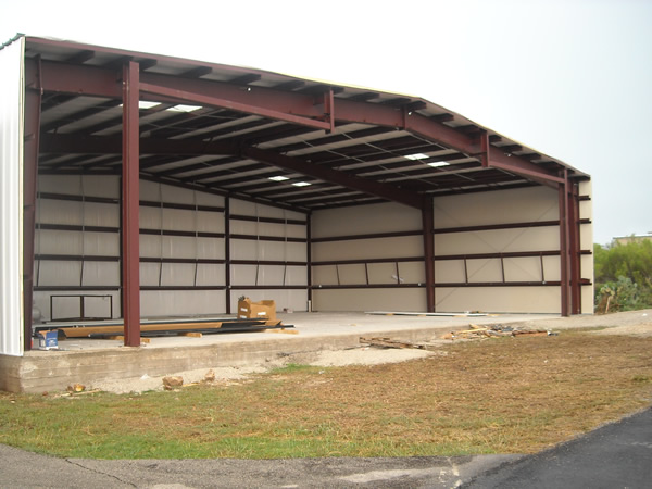 Aircraft Hangar Door Installation Preparation